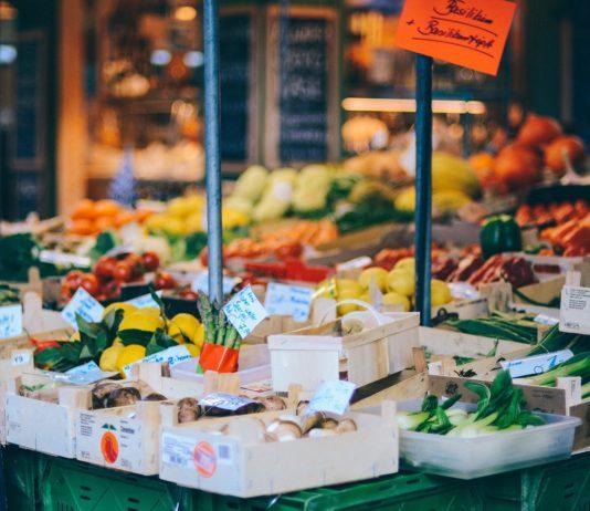 feira, orgânicos, alimentos, mercado