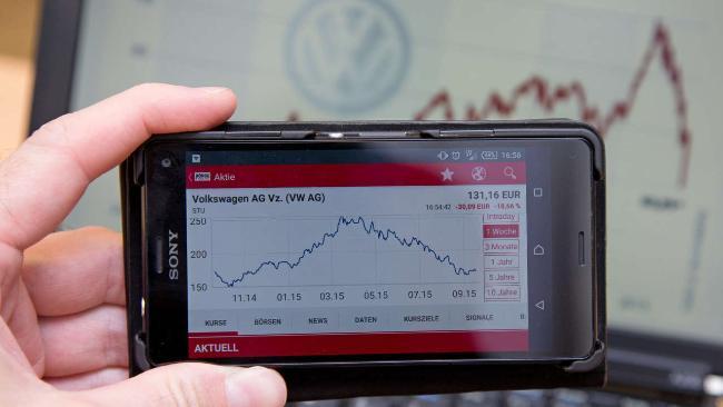 wueda ações VW