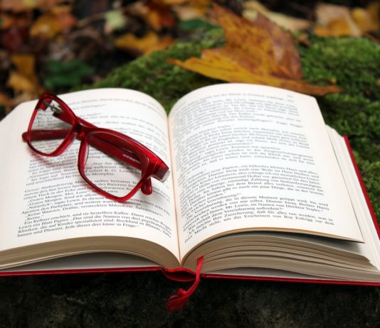 livro aberto, leitura