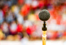 Microfone, cantar, dom musical