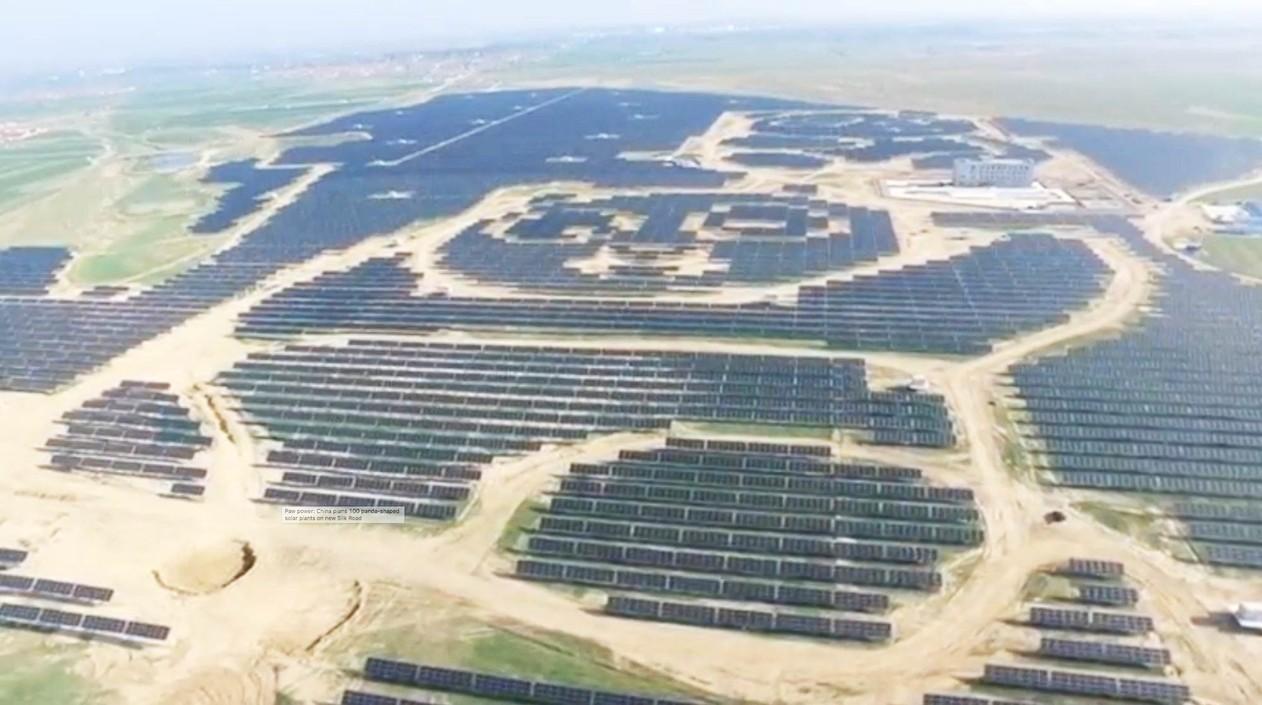 China Inaugura Usina Solar No Formato De Panda Organics