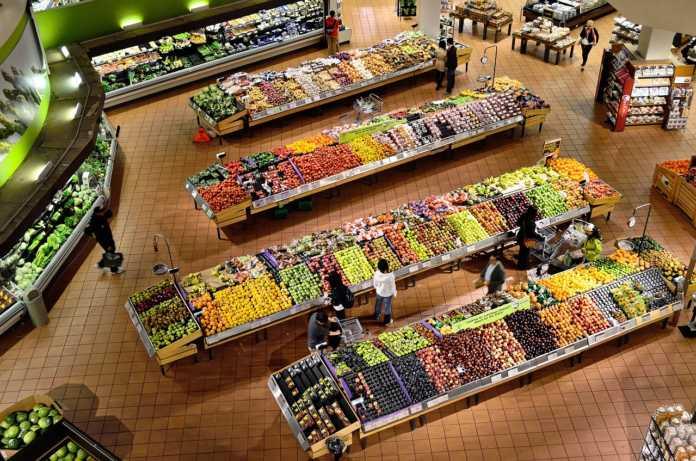 mostrar um supermercado de orgânicos
