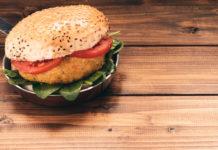 hambúrguer vegetal - vegetariano