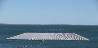 Usina Solar flutuante inaugurada em Sobradinho na Bahia.