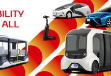 Toyora fornecerá linha completa de veículos elétricos para os Jogos Olímpicos 2020