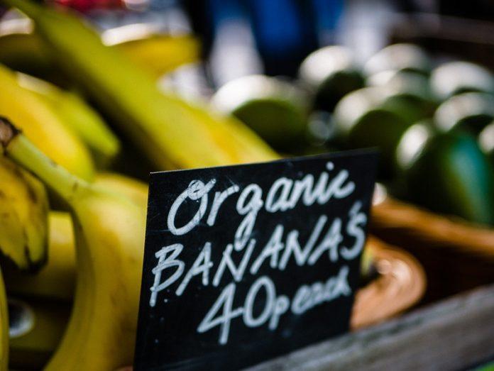 orgânicos no Reino Unido