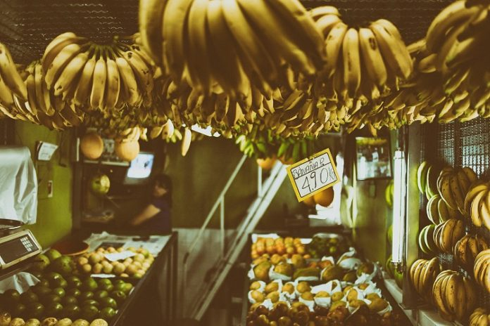 banana orgânica - orgânicos